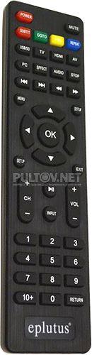 EP-1608 пульт для портативного телевизора Eplutus