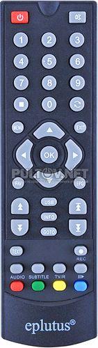 KR-6188 пульт для DVB-T2-ресивера Eplutus DVB-148T и др.