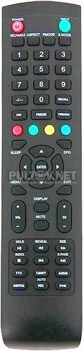 FLTV-22N100T, DEXP F40B7100K, F40C7100K пульт для телевизора