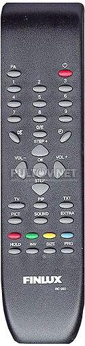 Finlux RC550 пульт для телевизора Finlux 21S20