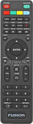 RS41-DCG пульт для телевизора Fusion FLTV-32A100T