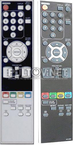 NF000UD, Funai NF019RD пульт для телевизора Funai