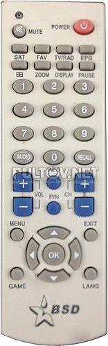 BSD DVB S2109N, Huba TOPFIELB-5100, Globo 4200S пульт для спутникового ресивера