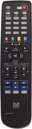 RUX7-YC02NA пульт для спутникового ресивера Globo HD S1