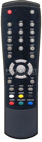 пульт для ресивера GLOBO X80