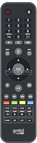 Gmini HD1210 пульт для медиаплеера GMINI