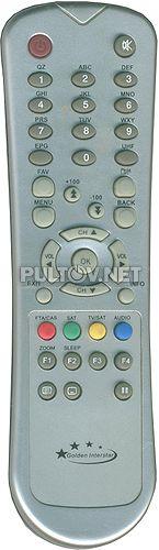 DSR-7700 Premium, DSR-7800 пульт для спутникового ресивера GOLDEN INTERSTAR