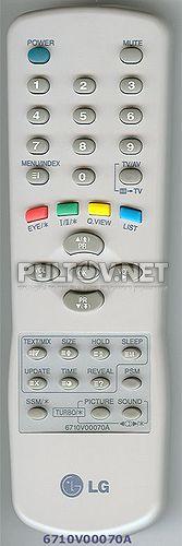 6710V00070A пульт для телевизора