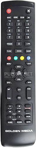 Wizard HD Vote пульт для спутникового ресивера Golden Media