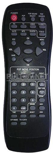 Greenwood TV POP 1280S пульт для TV-тюнера
