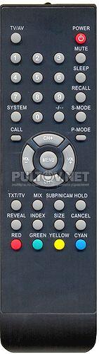 пульт HYUNDAI H-LCD2202 / UNITED LTW23X67