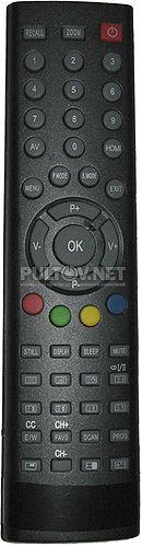 GK23J6-C15 , NOVEX TVD-23 для NL-2691, HYUNDAI H-LCD3200 , AKAI пульт для телевизора