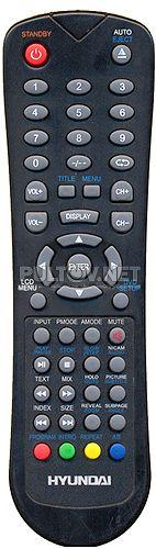 TV H-LCDVD2200 , AKAI LTC-15S04M пульт для телевизора со встроенным DVD