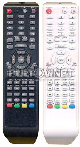 пульт для телевизора HYUNDAI H-LCDVD3200