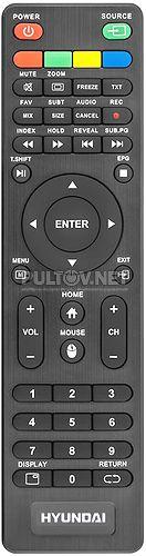 H-LED32R503GT2S пульт для телевизора Hyundai