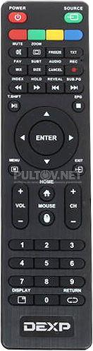 H32D8000Q пульт для телевизора Dexp
