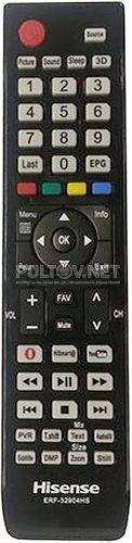 ERF-32904HS, ERF-32904A пульт для телевизора Hisense
