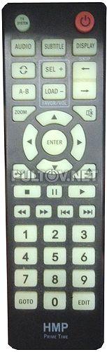 Ellion HMP Prime Time пульт медиаплеера без HDD Ellion HMP-500H, HMP-1000X