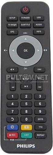 996510059138 пульт для медиаплеера PHILIPS HMP2500T/12
