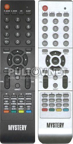 HOF09J124 пульт для телевизора MTV-2215WD (со встроенным DVD)