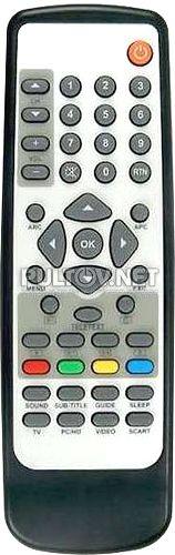 пульт для телевизора HORIZONT 32LCD827