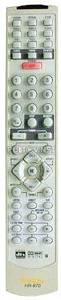 HR-970 пульт для усилителя SVEN (вариант 1)