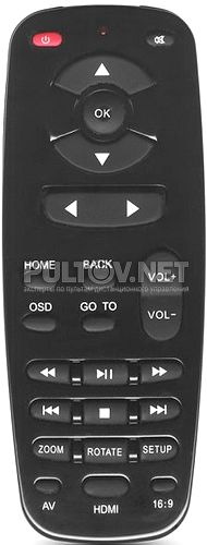 F204HC пульт для медиаплеера 3Q