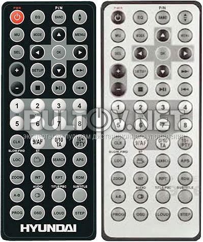 MMD-4000, AKAI ADV-61DR, HYUNDAI H-CMD4010 пульт для автомагнитолы