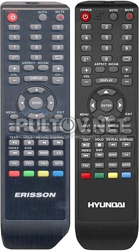 H-LCD3210, Errison 22LEN60 пульт для телевизора