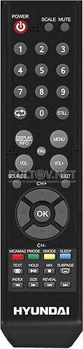 H-LED39V25 пульт для телевизора Hyundai, LEA-32A08G