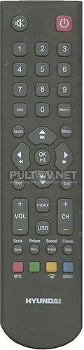 RC2000A1 оригинальный пульт для телевизора HYUNDAI
