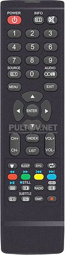 JKT-62C пульт для телевизора Harper 32R660T
