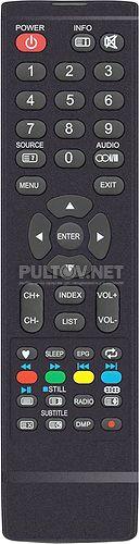 JKT-62C пульт для телевизора Dexp H20C3200C