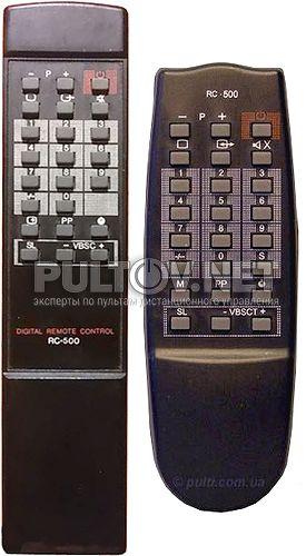 RC-500 пульт для телевизора Horizont 24ТБ-450Д и др.(пр-во Беларусь)