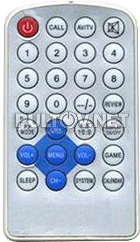 NGR HTV-780, SAM-805 пульт для автомобильного ЖК-монитора