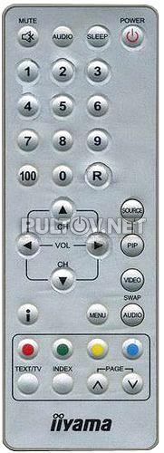 Iiyama ProLite C510T пульт для телевизора