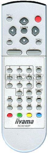 Iiyama RC00160P пульт для ЖК-монитора, оснащенного ТВ-тюнером Iiyama C1900WTV-B1