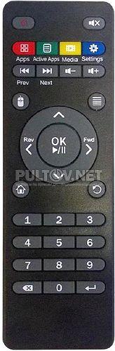 IN-TECH MINI HD PLAYER пульт для медиаплеера