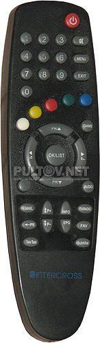 Intercross ICxSTB 500-41-01 пульт для кабельного ресивера  (вариант 1)