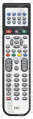 AKAI заменяющий IRC-0201DD (бывший IRC-0201C) [AKAI TV, VCR] - Пульты ДУ! Интернет-магазин ПДУ! Все пульты дистанционного управления!