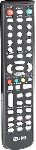 HH988-1 , TLE32F400B пульт для телевизора IZUMI
