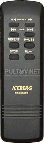 ICEBERG CDK900PR пульт для CD-проигрывателя ICEBERG CDK-900PR