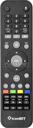XDS111K, XDS6L MK2 пульт для медиаплеера IconBit