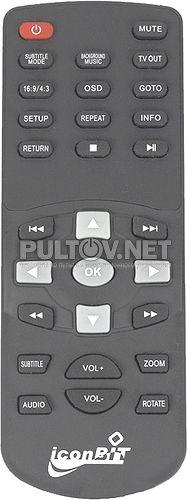 HDM3HDMI пульт для медиаплеера IconBit