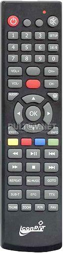 HDM36 DVBT пульт для мультимедийного плеера IconBit