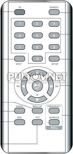 Infinity LDR-E400 пульт для видеорегистратора