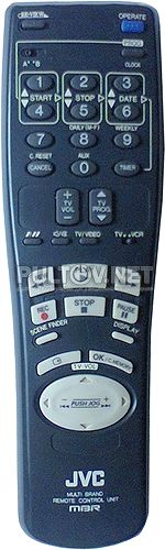 MBR пульт для видеомагнитофона JVC HR-E539EE и др.