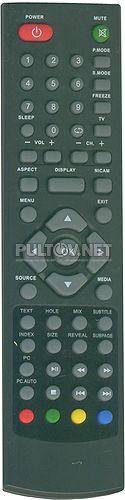JX-1207B пульт для телевизора DNS S16A89