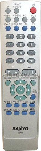 JXPPA пульт для телевизора Sanyo PLV-55WR1Z и др.