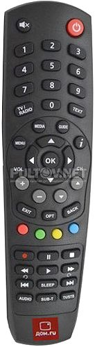 Kaon HD 5000 пульт для цифрового телевидения ДОМ.RU TV Mini